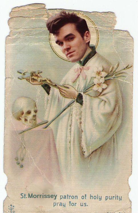 St. Morrissey.  By Liam Arsön.
