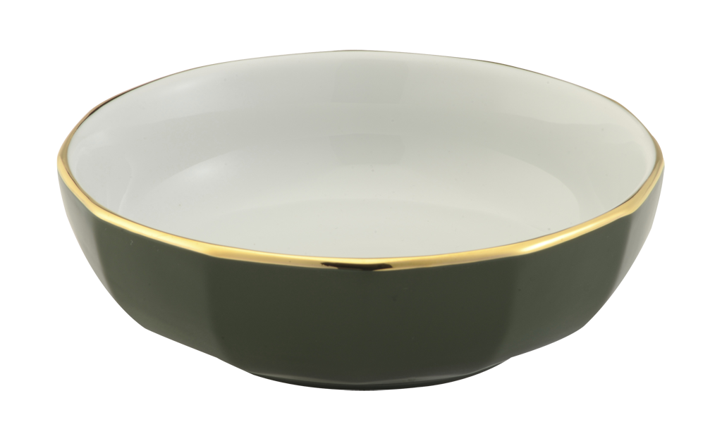 Cereal Bowls Products 187 Tableware 187 Bowls 187 Green Amp Gold