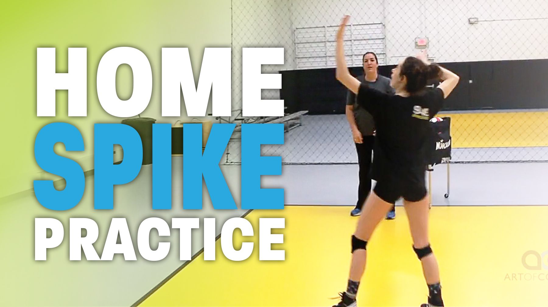 You Don T Have To Wait For Volleyball Practice To Work On Your Spiking As Cary Wendell Wallin Expl Coaching Volleyball Volleyball Workouts Volleyball Practice