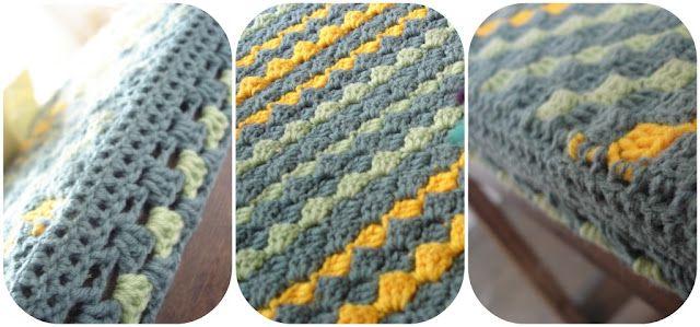 How to crochet diagonally - Tutorial