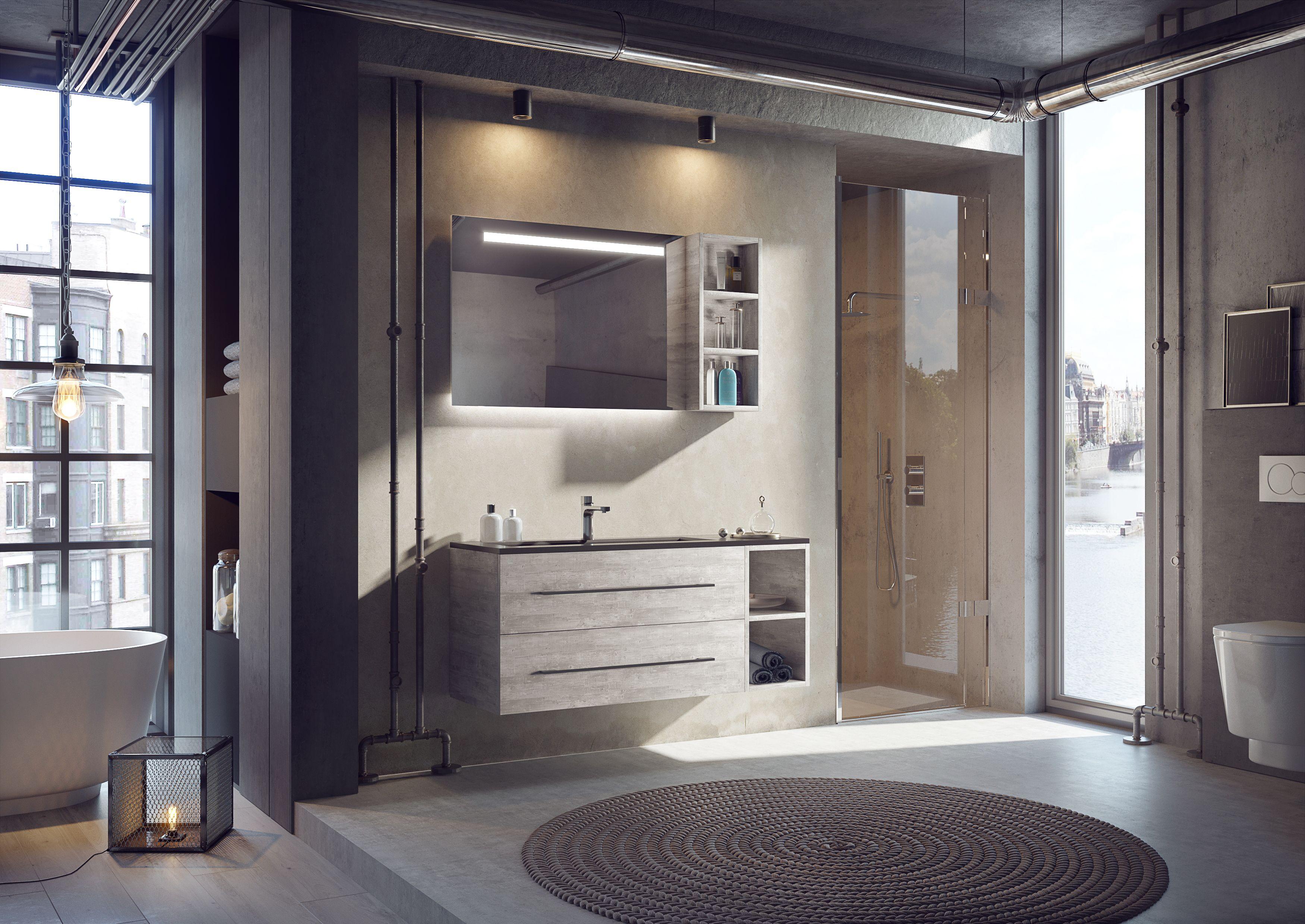 Creëer jouw ideale badkamer en combineer een wastafelkast met een