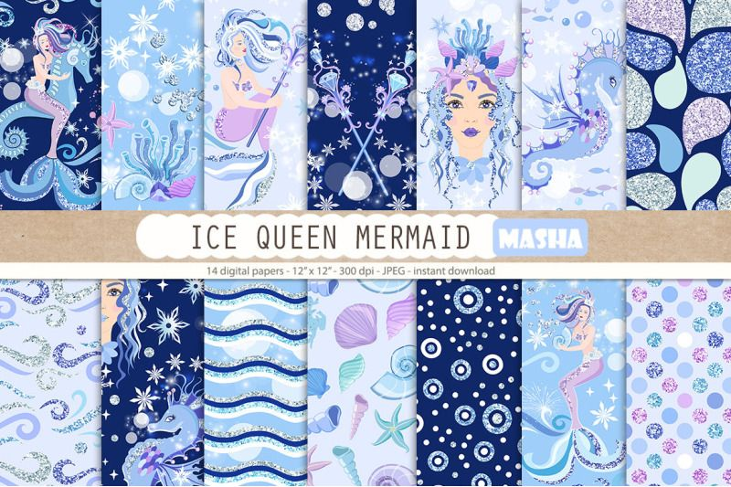 Pin by The Art of Creativity Studio on Ocean | Ice queen ...
