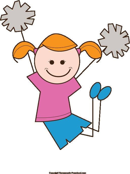 Stick Figure Cheerleader Clipart Clip Art Stick Figures Trending Topics