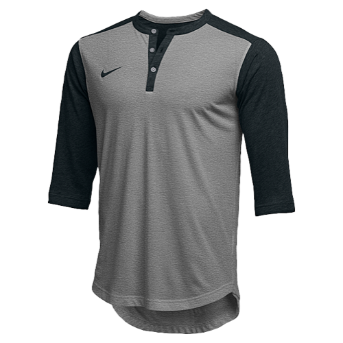 19bbb1a5b51d Nike Team 3 4 Sleeve Flux Henley - Men s at Eastbay