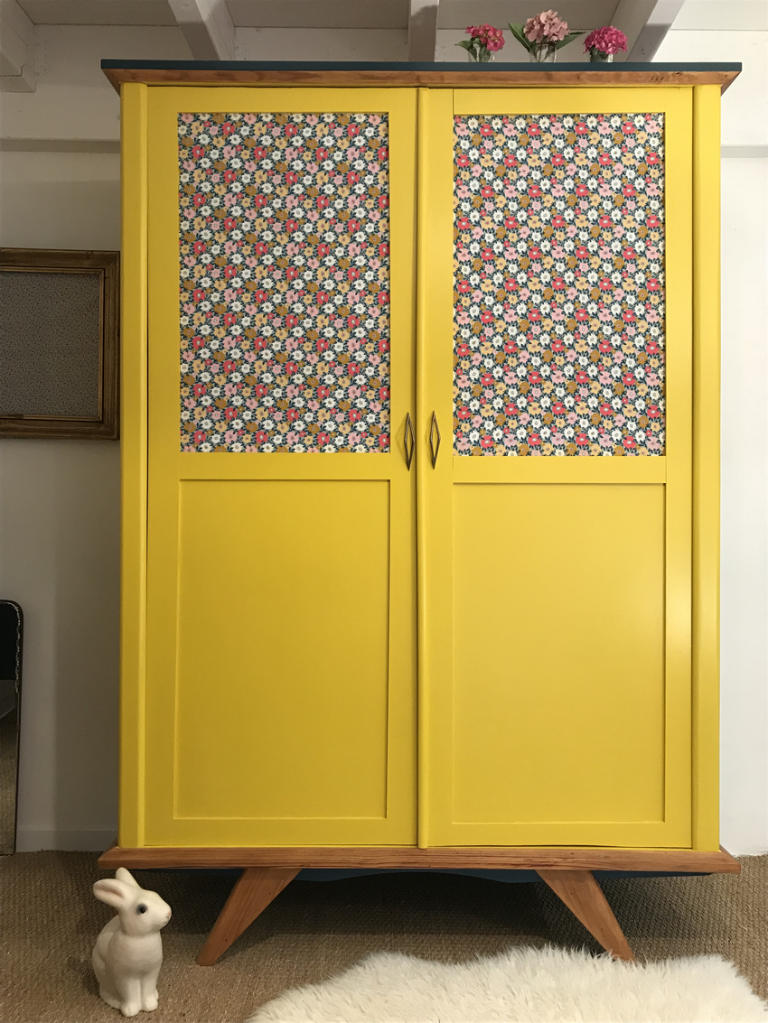 l armoire vintage lucie lou a ete