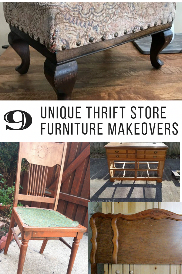 9 Unique Thrift Furniture Makeovers You Can Try This Weekend Stools