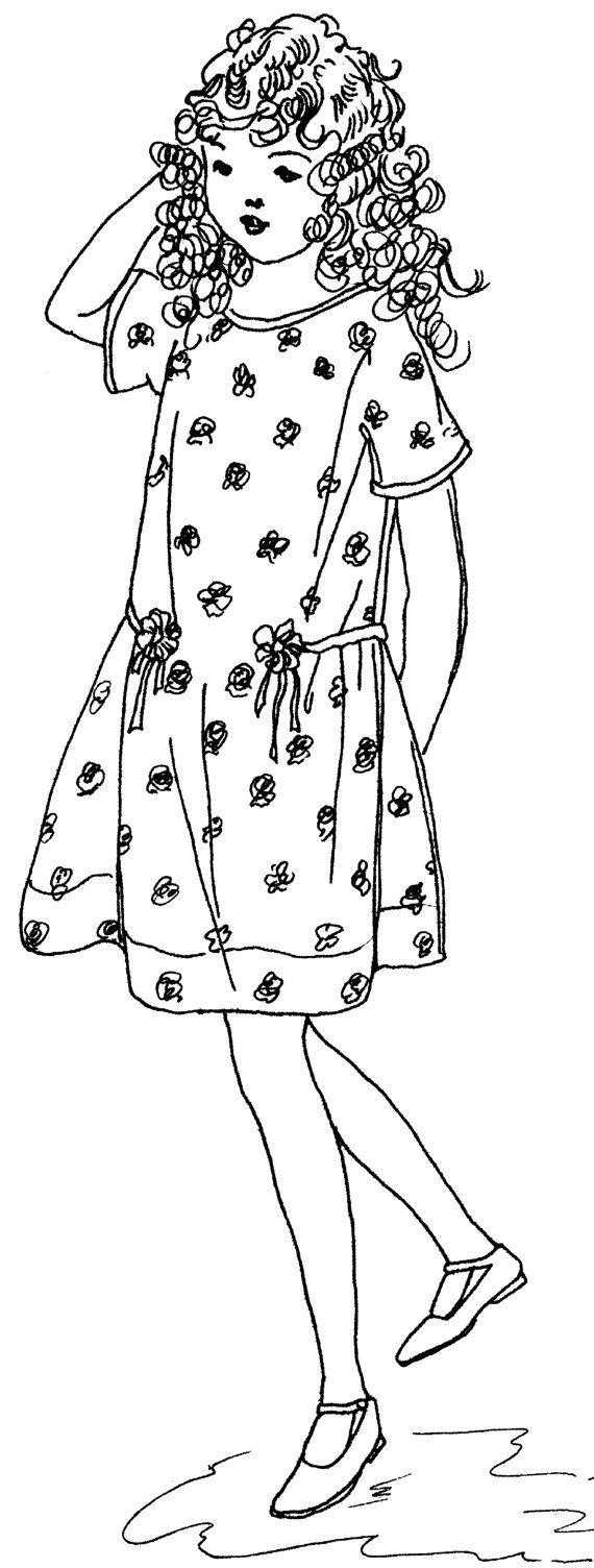 1920 girls school dress sewing pattern in two sizes by digmongin 1920 girls school dress sewing pattern in two sizes by digmongin 800 jeuxipadfo Images
