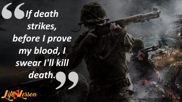 Indian Army Quotes Warriors Quotes Military Quotes Soldier