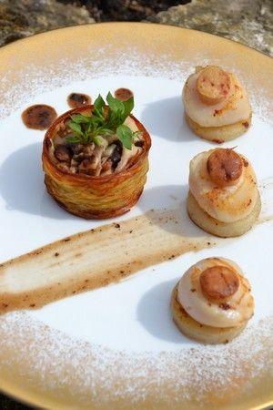 Saint Jacques Facon Rossini Recettes De Cuisine Cuisine Creative Recette