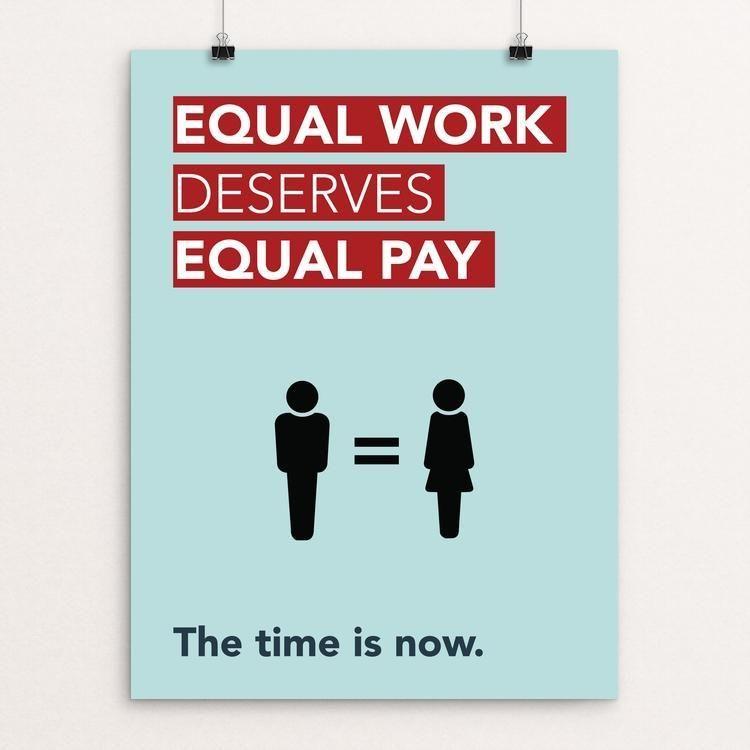 Gender Equality Poster By Laura Wells Gender Equality Poster Equality Gender Equality