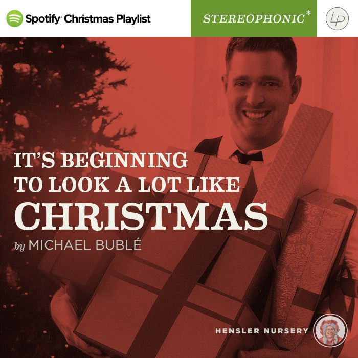 Michael Buble Its Beginning To Look A Lot Like Christmas.Pin By Hensler Nursery On Spotify Playlist Christmas Pop