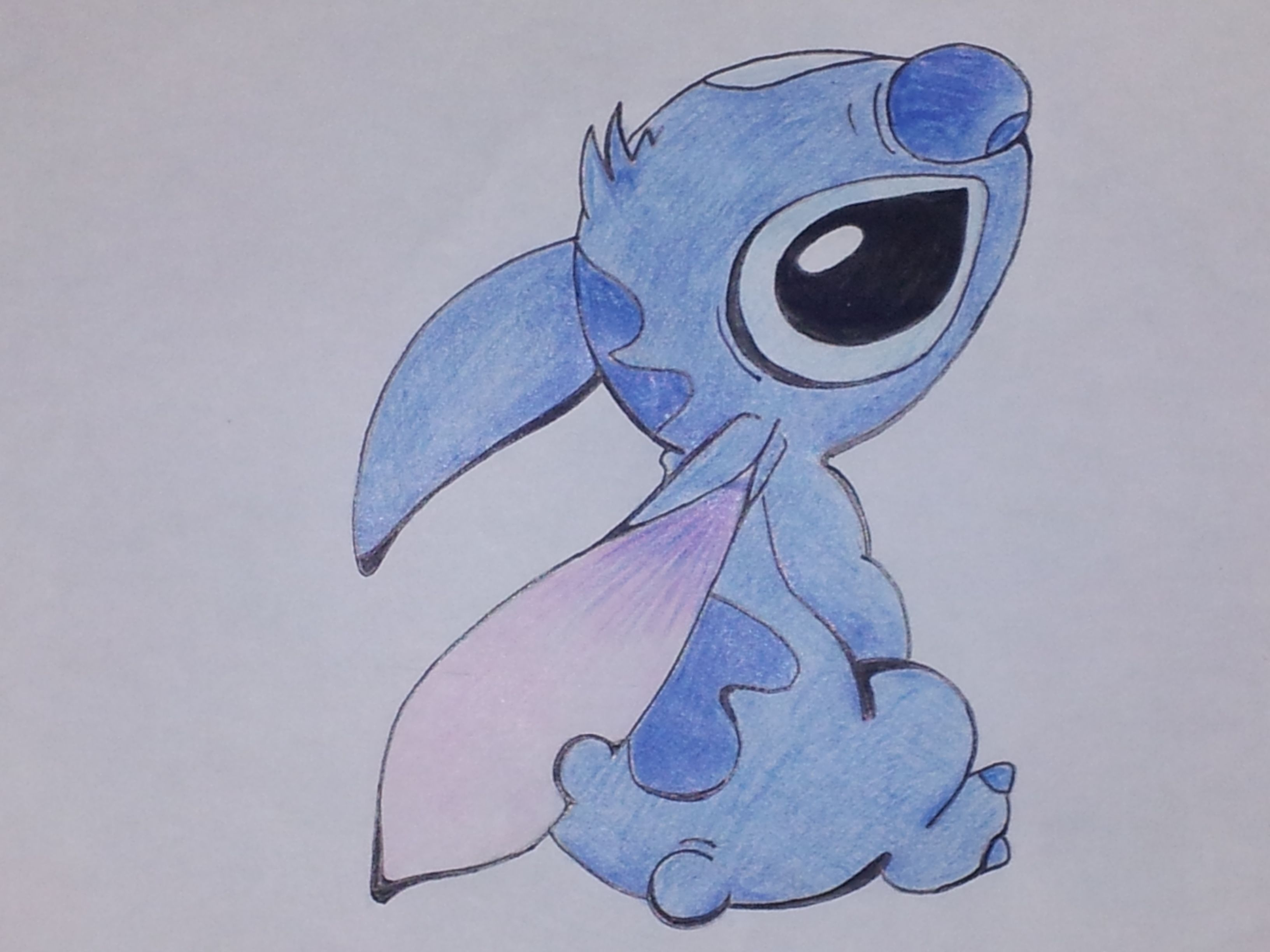 Stitch disney disegni pinterest disney e punti for Disegni a matita disney