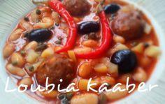 Mangez tunisien: Ragoût d'haricots blancs aux boulettes