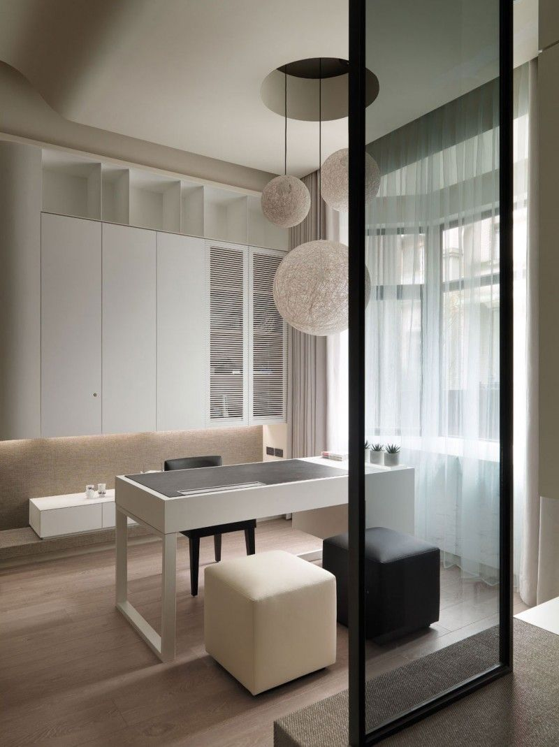 A Multilevel Contemporary Apartment by WCH Studio | Apartments ...