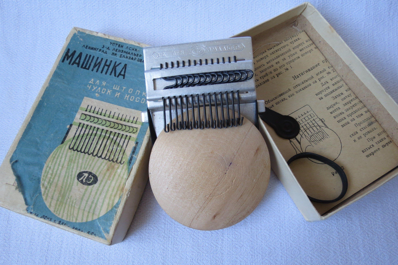 vintage speedvawe darner in original box with original instruction Darning tool perfect for visible mending