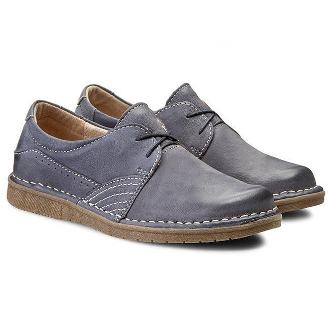 Polbuty Lasocki Galaxa 01 Granatowy Dress Shoes Men Oxford Shoes Dress Shoes
