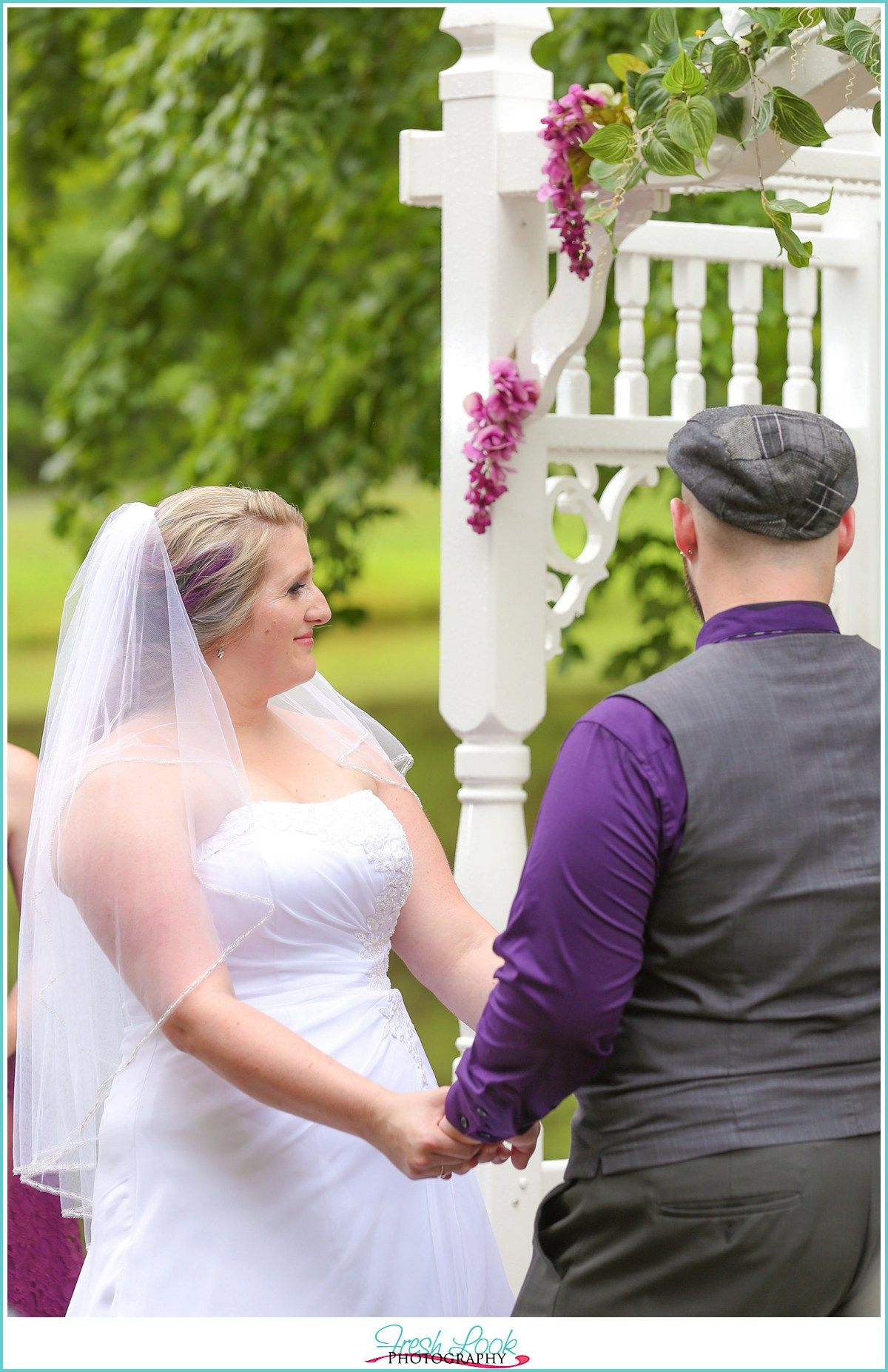 Mountain Acres Lodge wedding, teal and purple wedding, Pennsylvania wedding, State College wedding, rustic hunting lodge, mountain lodge, Fresh Look Photography