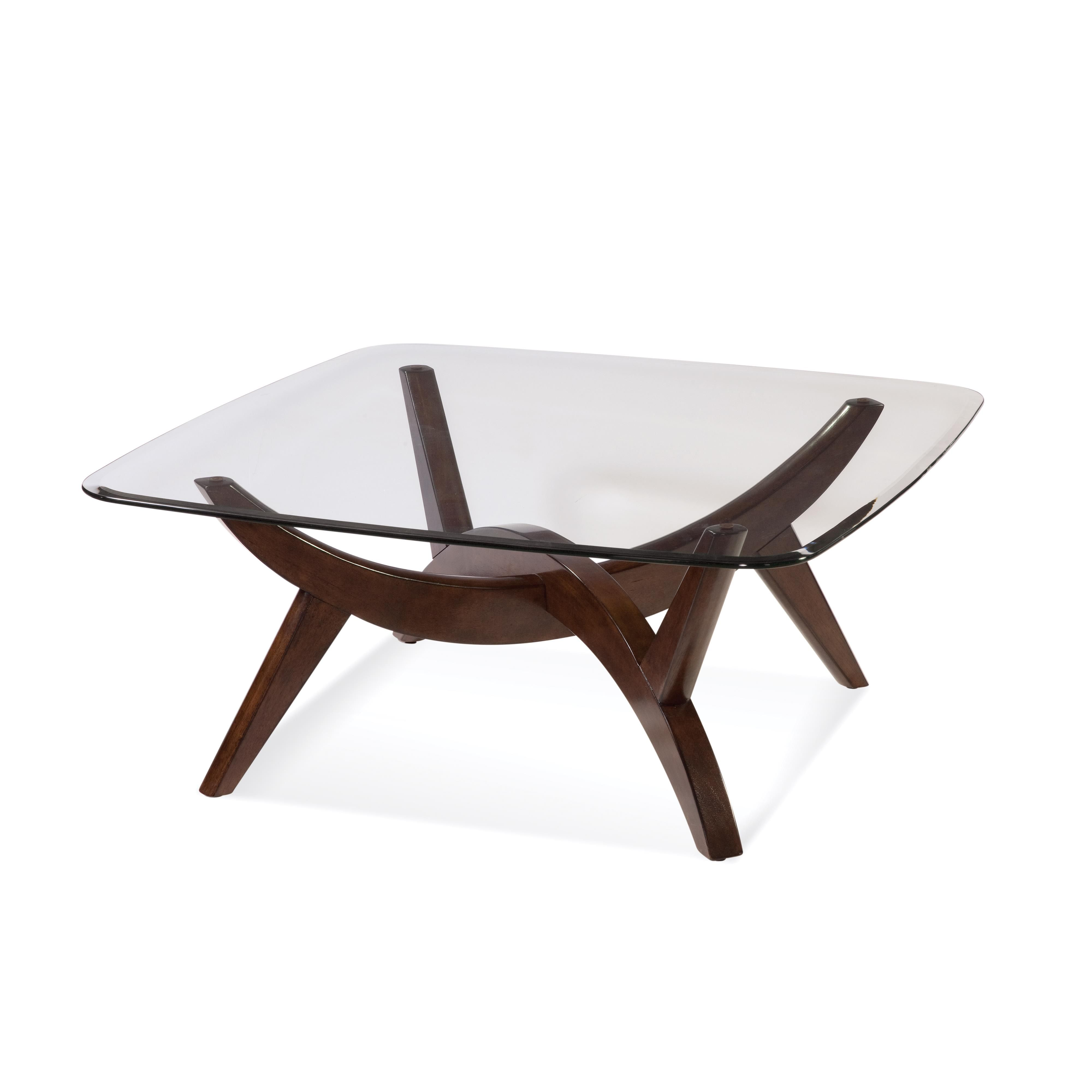 Thoroughly Modern Gillian Square Cocktail Table By Bassett Mirror Coffee Table Coffee Table Joss And Main Coffee Table Base [ 4000 x 4000 Pixel ]