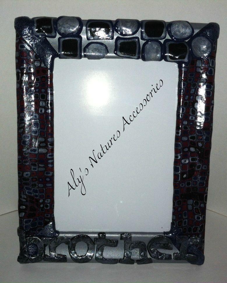 Handmade Polymer Clay Frame \