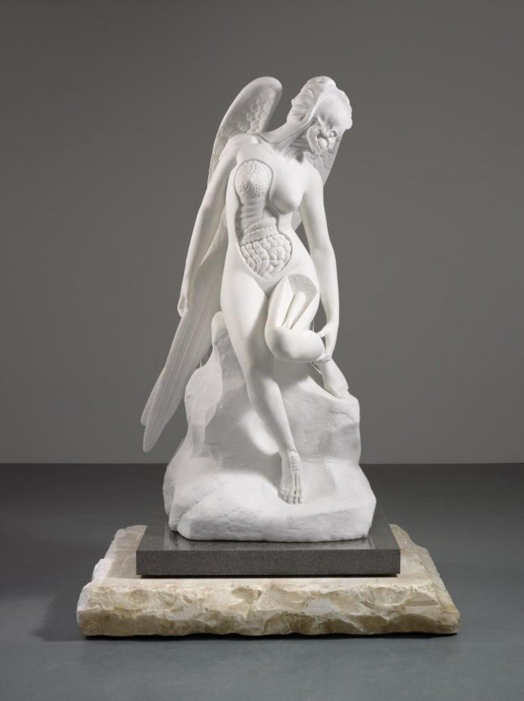 The Anatomy of an Angel (2008) by Damien Hirst - Show Me Some Guts | citizenMag