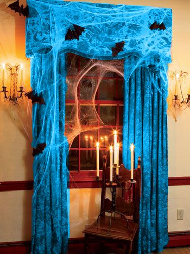 60+ Enchanting Halloween Decorating Ideas Ball theme party - halloween decorations party