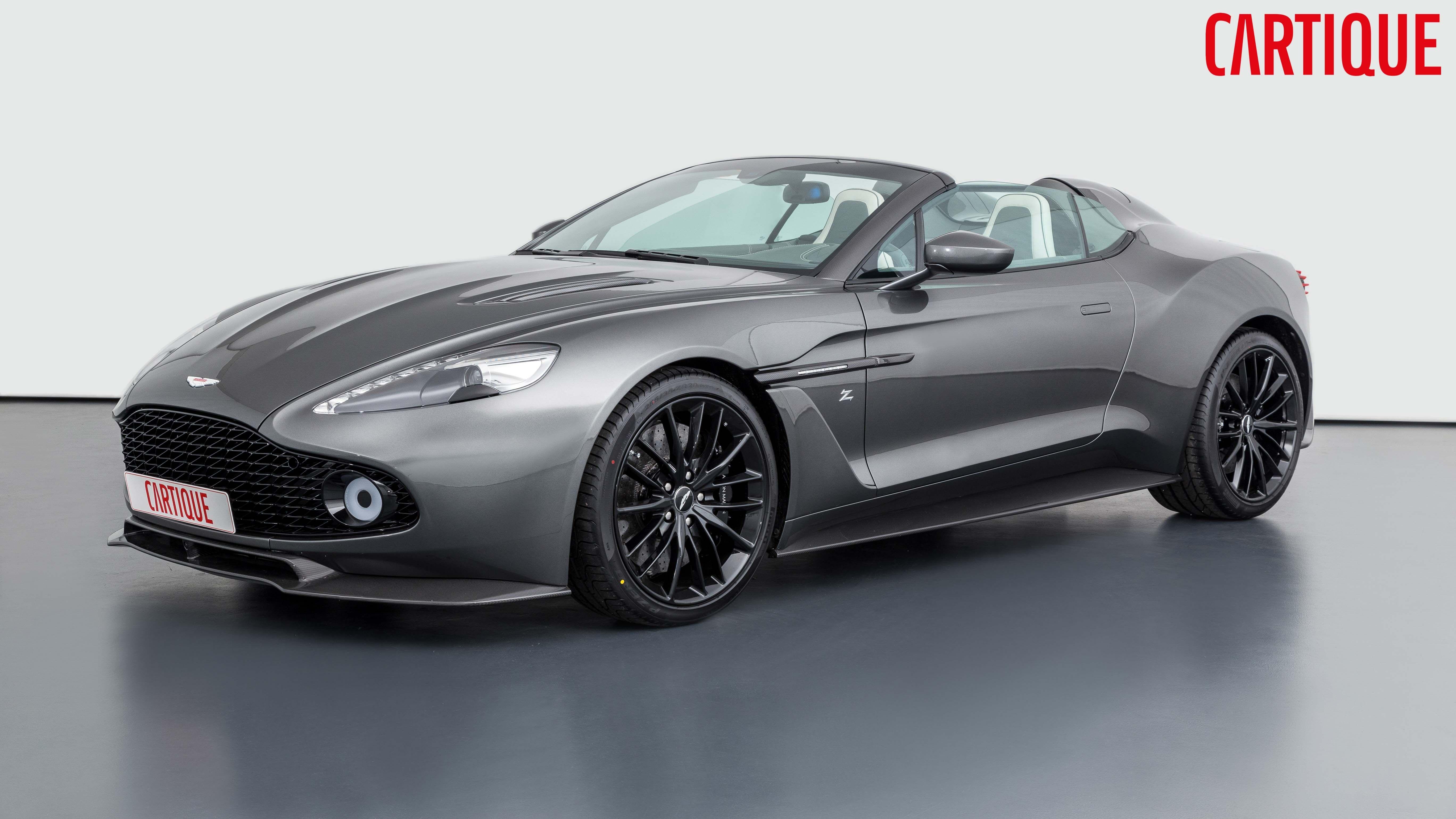 2018 Aston Martin Vanquish Zagato Speedster Sportwagen Sport