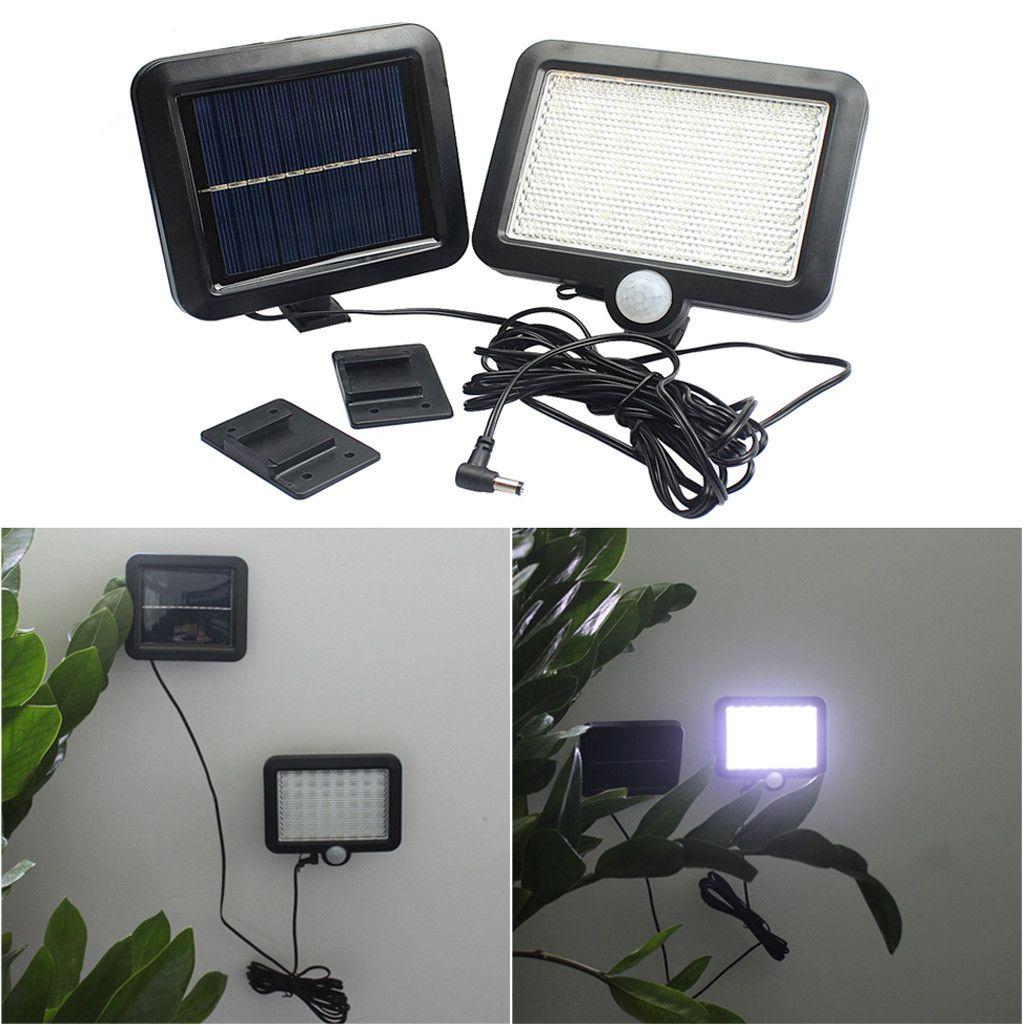 Solar Power Motion Sensor Light Security Flood Outdoor Garden Path Lamp 56 Led 518 Solar Powered Garden Lights Outdoor Solar Lights Motion Sensor Lights Outdoor