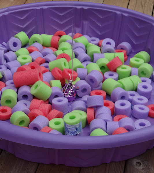 Pool Noodle Crafts Christmas Candy Land
