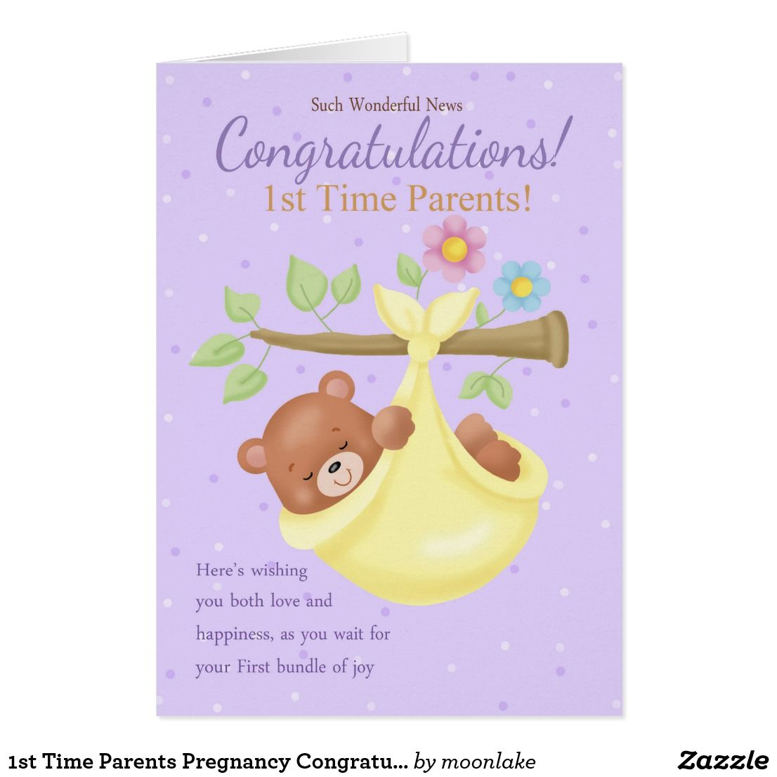 1st time parents pregnancy congratulations card greeting cards 1st time parents pregnancy congratulations card m4hsunfo