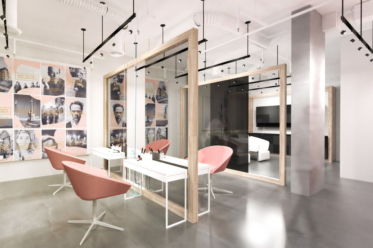 Zu Hair Salon Waterfront Building Calgary 2014 Taking Cues From Scandinavian Design Trends This Boutique Highlights The Base