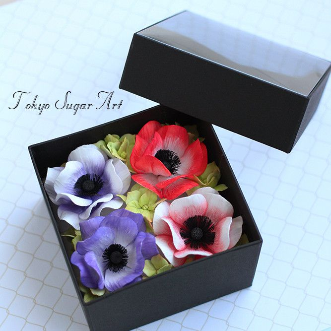 Sugar Flower Anemone  お砂糖で作られているアネモネ