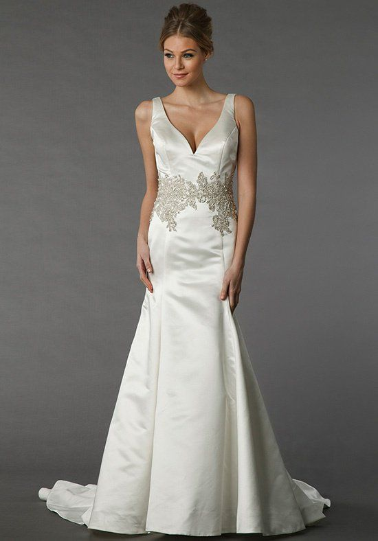 Danielle Caprese for Kleinfeld 113079 - This A-line gown features a ...