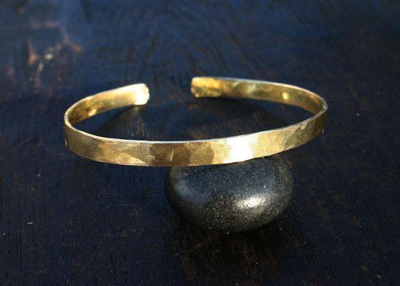 CUFF BRACELET Antique Gold OR Copper Open-Me-Up Cuff Photo Bracelet Unique