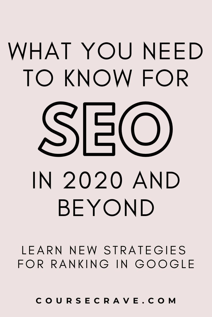 Wondering how best to rank in Google for 2020 and beyond? Learn from search engine optimization experts everything you need to know about new SEO strategies and tips for blog and website optimization. There have been some significant changes for Google ranking! Click to learn more about best SEO practices. #seomarketing #seotips #seokeywords #seoforbloggers #seotools #seoforbeginners #seo2020 #whatisseo #seostrategy #digitalmarketing #rankingoogle #googleranking