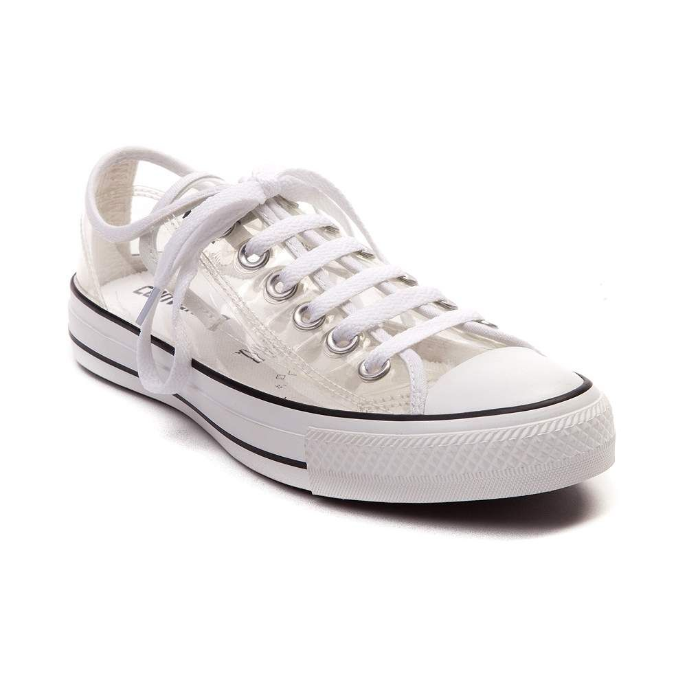 Converse Chuck Taylor All Star Lo Clear.....would be cool for