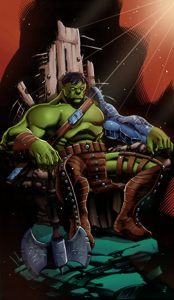 Planet Hulk By Hitotsumami On Deviantart Hulk Artwork Planet Hulk World War Hulk