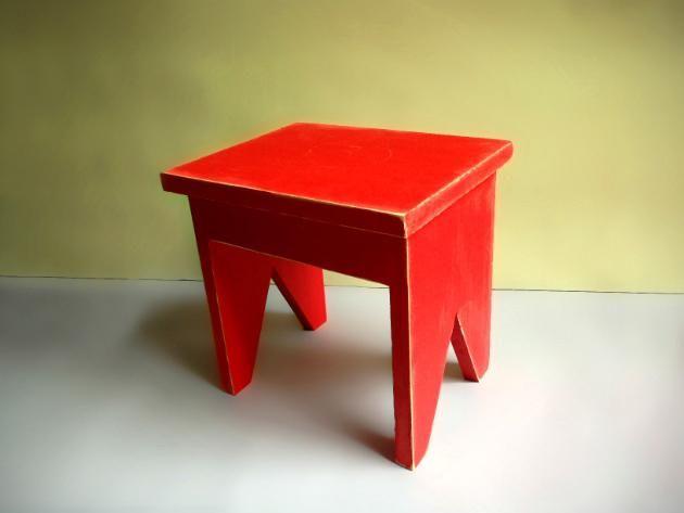 Diy c mo hacer tu propio banquito de madera estilo - Como hacer bancos de madera ...
