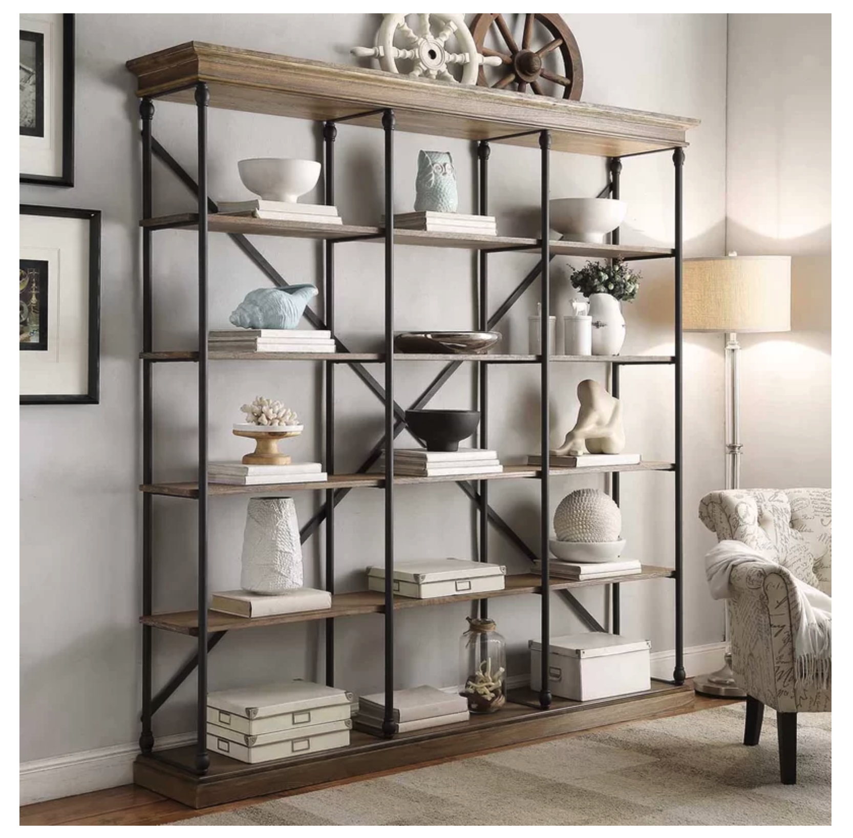 Gail Etagere Bookcase