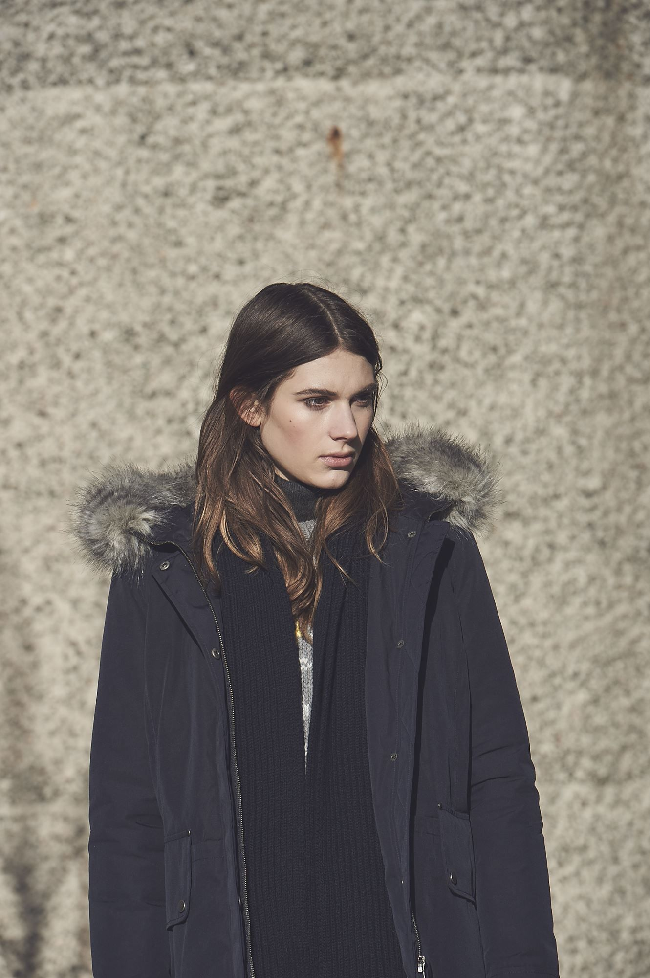 Ida | Women's Core Parka | Navy £265
