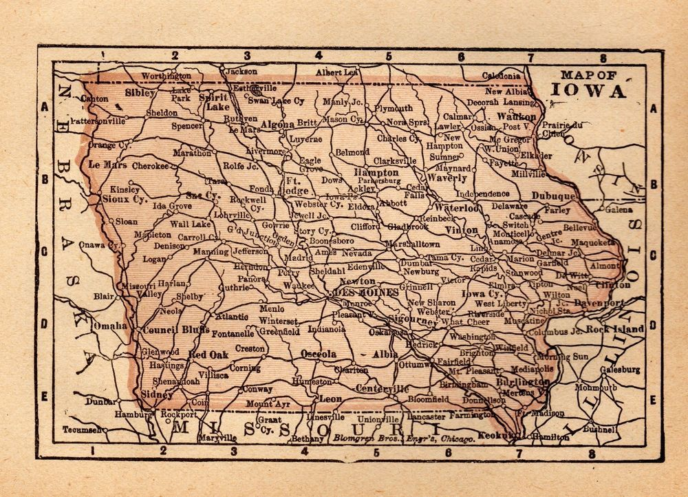 Pin By Plaindealing Prints And Maps On United States Maps
