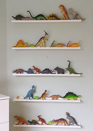 Photo of Daniel's dinosaur den