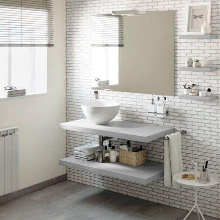 Pin de Any en baños Pinterest Muebles de lavabo, Lavabo y Baño