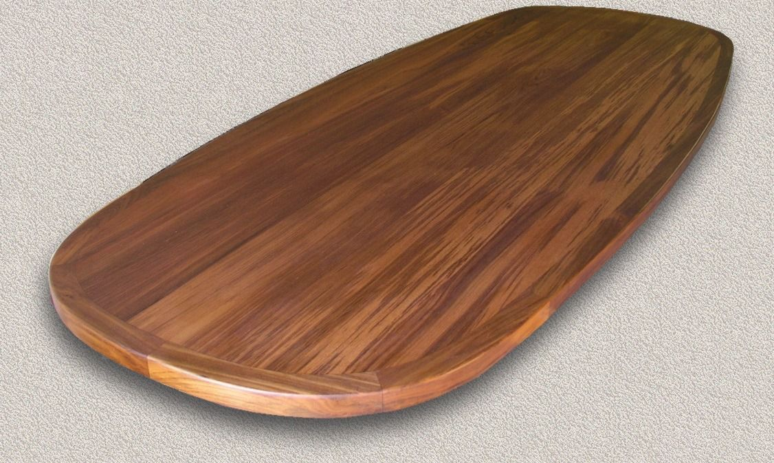 Teak Table Tops Custom Marine Woodwork Comp Inlay To Be Set In Center