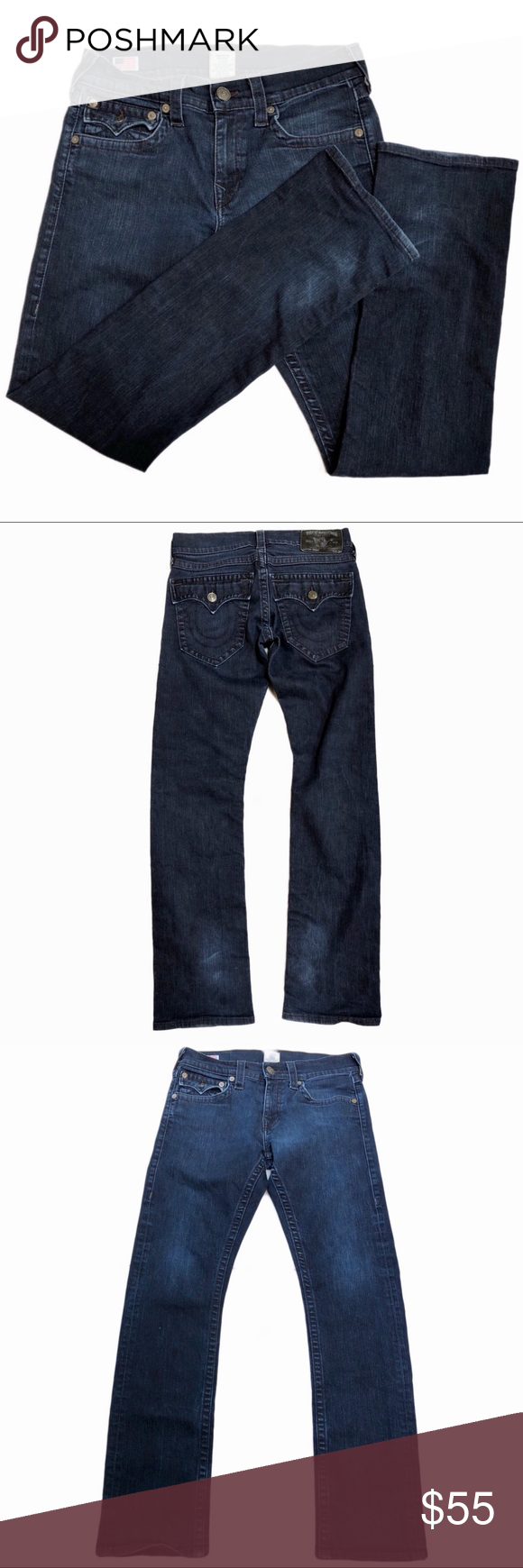 TRUE RELIGION RICKY STRAIGHT FIT JEANS Grab these awesome