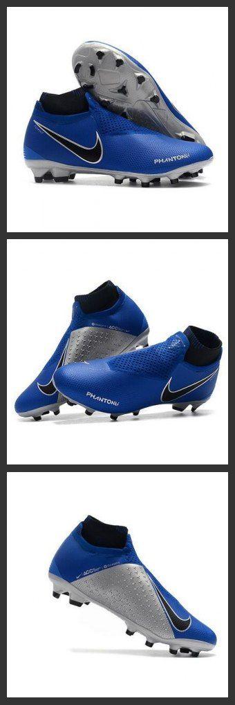 Scarpe Per Gli Uomini Nike Phantom Vision Elite DF FG Blu