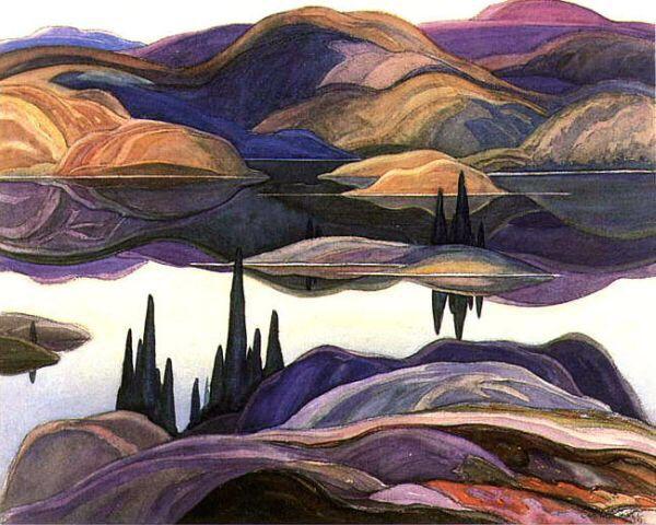 Mirror Lake 1929 - Franklin Carmicheal