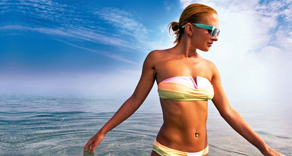 Get bikini fit. Look great on holiday with our advice on how to tone up.