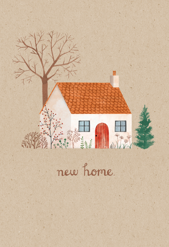 Welcome Mat Congratulations Card Greetings Island Watercolor House Painting House Illustration Art