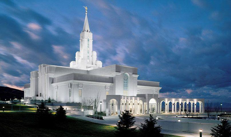 Bountiful, Utah Temple, Where my family began.