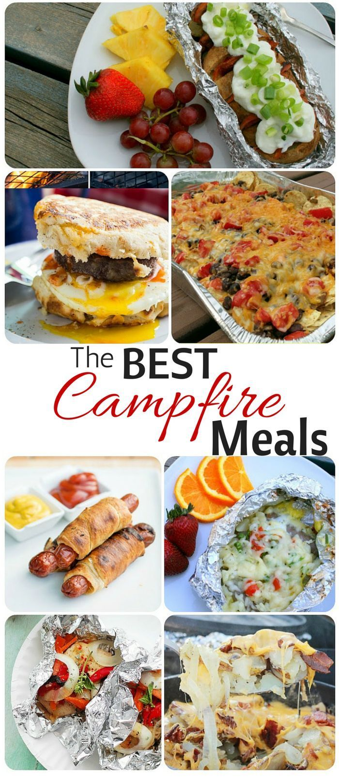 the best camping meals ever – campfire food hacks – crescent dogs